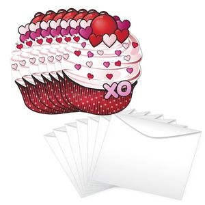 Strawberry /& Cherry Valentine/'s Scratch And Sniff Cards 28-Count